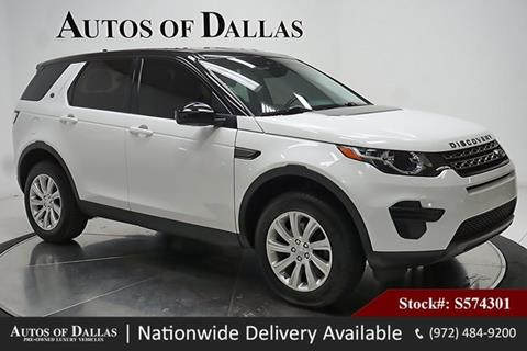 2016 Land Rover Discovery Sport for sale in Plano, TX