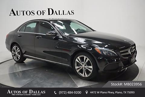 2015 Mercedes-Benz C-Class for sale in Plano, TX