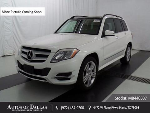2015 Mercedes-Benz GLK for sale in Plano, TX