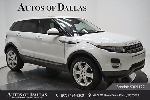 2015 Land Rover Range Rover Evoque for sale in Plano, TX