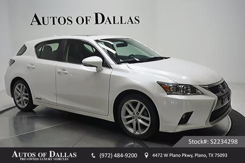 2015 Lexus CT 200h for sale in Plano, TX