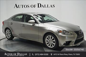 2015 Lexus IS 250 for sale in Plano, TX