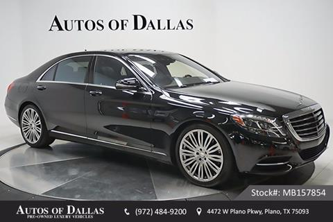 2015 Mercedes-Benz S-Class for sale in Plano, TX