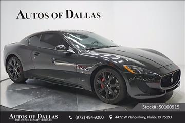 2014 Maserati GranTurismo for sale in Plano, TX