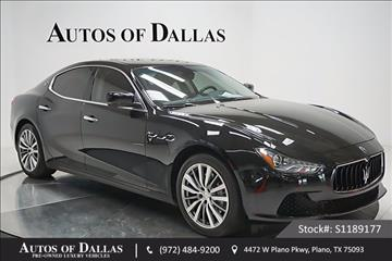 2016 Maserati Ghibli for sale in Plano, TX