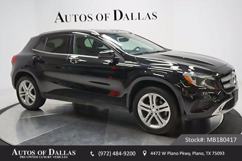 2015 Mercedes-Benz GLA for sale in Plano, TX