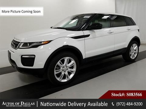 2016 Land Rover Range Rover Evoque for sale in Plano, TX