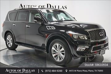 2016 Infiniti QX80 for sale in Plano, TX