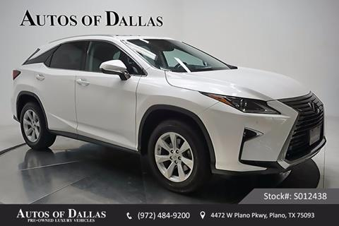 2016 Lexus RX 350 for sale in Plano, TX