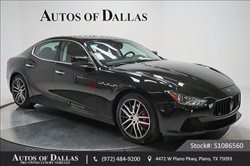 2014 Maserati Ghibli for sale in Plano, TX