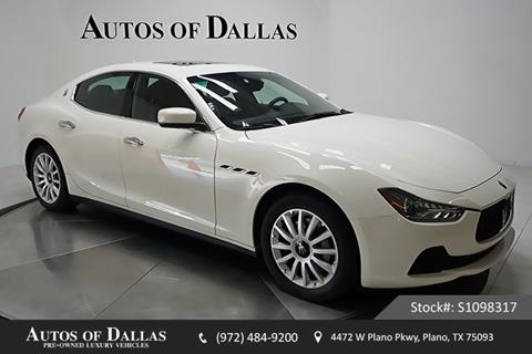 2014 Maserati Ghibli for sale in Plano, TX