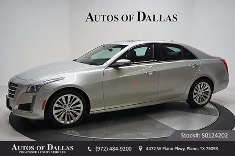 2016 Cadillac CTS for sale in Plano, TX