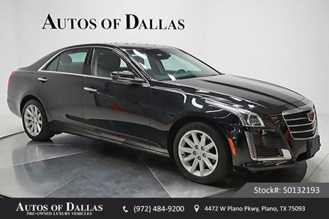 2015 Cadillac CTS for sale in Plano, TX