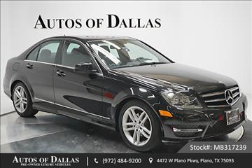 Mercedes benz c class for sale plano tx for Mercedes benz of plano plano tx