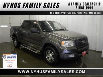 2004 Ford F-150 for sale in Perham, MN