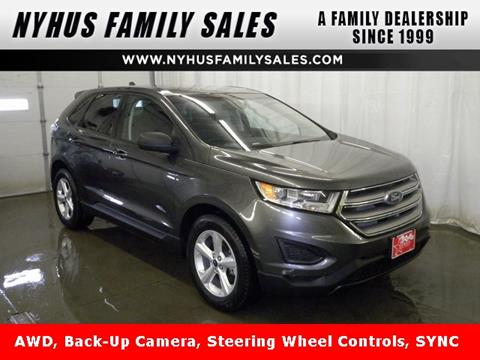 2015 ford edge for sale in minnesota. Black Bedroom Furniture Sets. Home Design Ideas