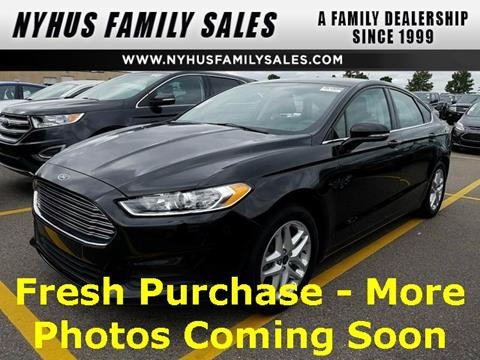 2016 Ford Fusion for sale in Perham, MN