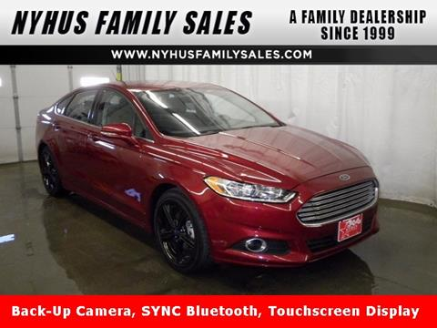 2015 Ford Fusion for sale in Perham, MN