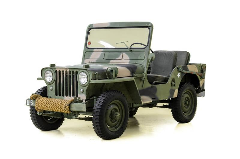 1951 Willys Jeep for sale in Concord, NC