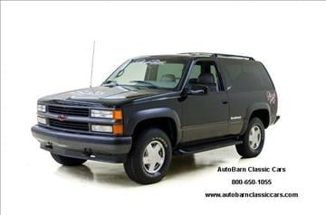 1996 chevrolet tahoe for sale. Black Bedroom Furniture Sets. Home Design Ideas