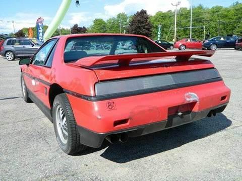 1986 Pontiac Fiero for sale in Gonic, NH