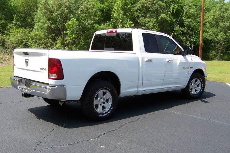 2010 Dodge Ram Pickup 1500 4x4 SLT 4dr Quad Cab 6.3 ft. SB Pickup - Greenwood SC
