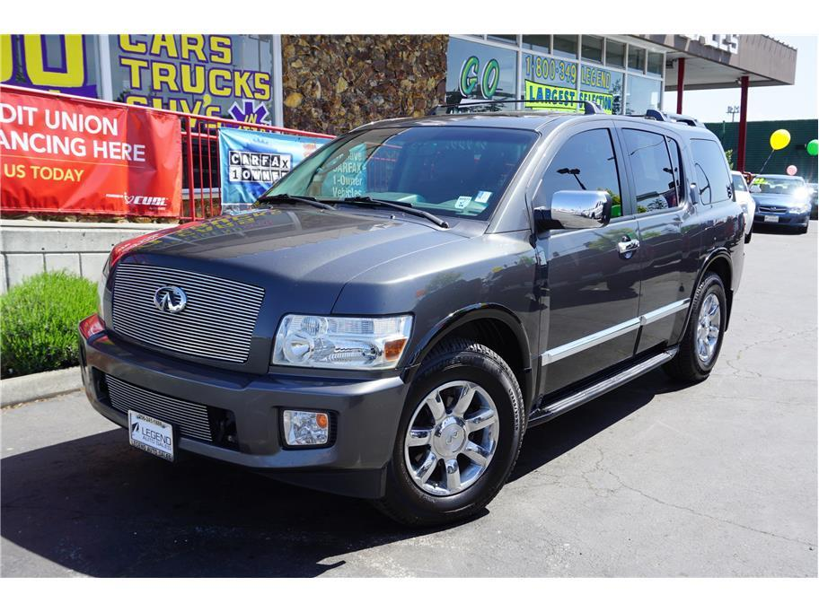2006 infiniti qx56 4dr suv 4wd in burien wa legend auto sales. Black Bedroom Furniture Sets. Home Design Ideas
