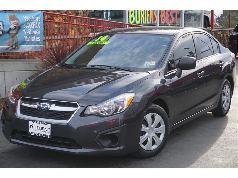 2014 subaru impreza awd 4dr sedan cvt in burien wa legend auto sales. Black Bedroom Furniture Sets. Home Design Ideas
