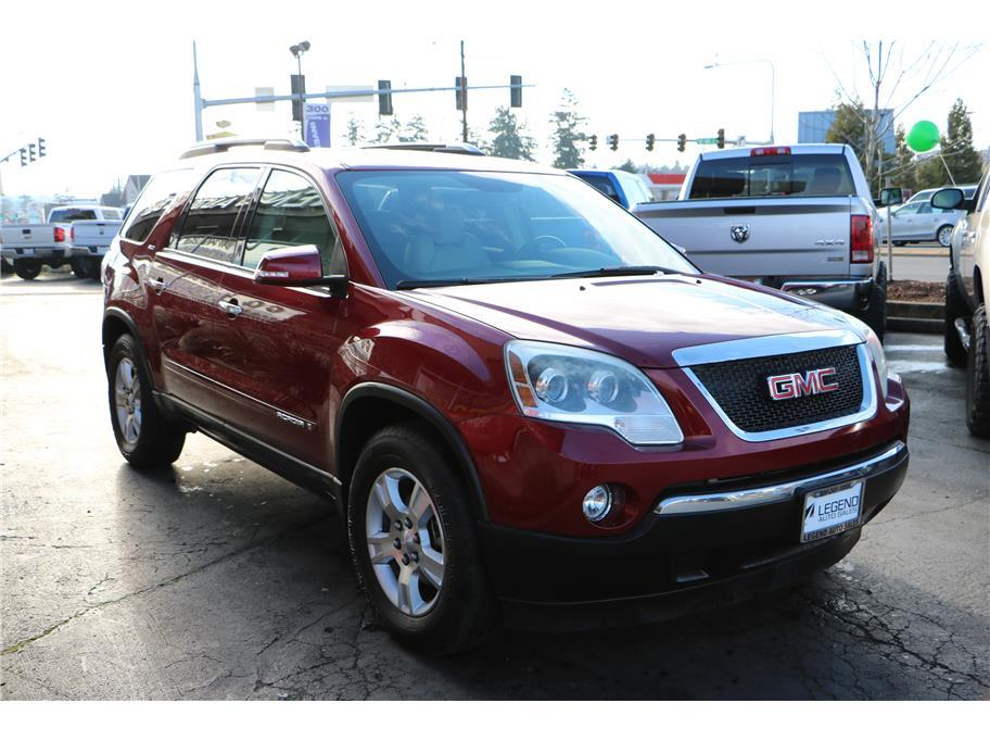 2008 gmc acadia slt 2 4dr suv in burien wa legend auto sales. Black Bedroom Furniture Sets. Home Design Ideas
