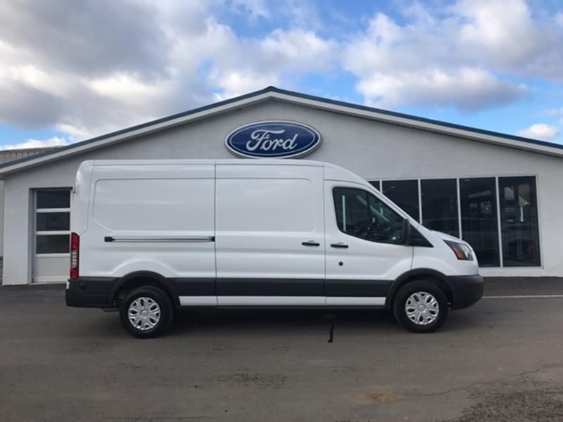 2ae86e4032 2018 Ford Transit Cargo 250 3dr LWB Medium Roof Cargo Van w Sliding  Passenger Side Door