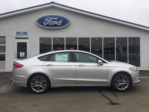2017 Ford Fusion for sale in Coudersport, NY