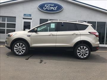 2017 Ford Escape for sale in Coudersport, PA