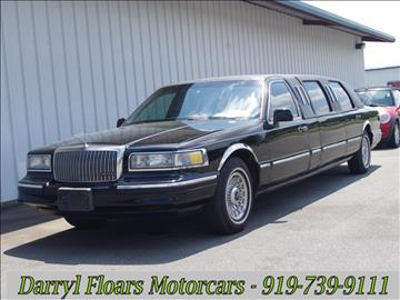 1995 Lincoln Town Car for sale in Goldsboro, NC