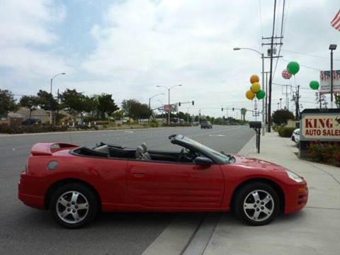 2003 Mitsubishi Eclipse Spyder for sale in Montclair, CA