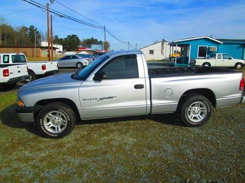 2001 Dodge Dakota for sale in Lancaster, SC