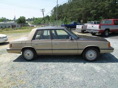 1984 Dodge Aries K