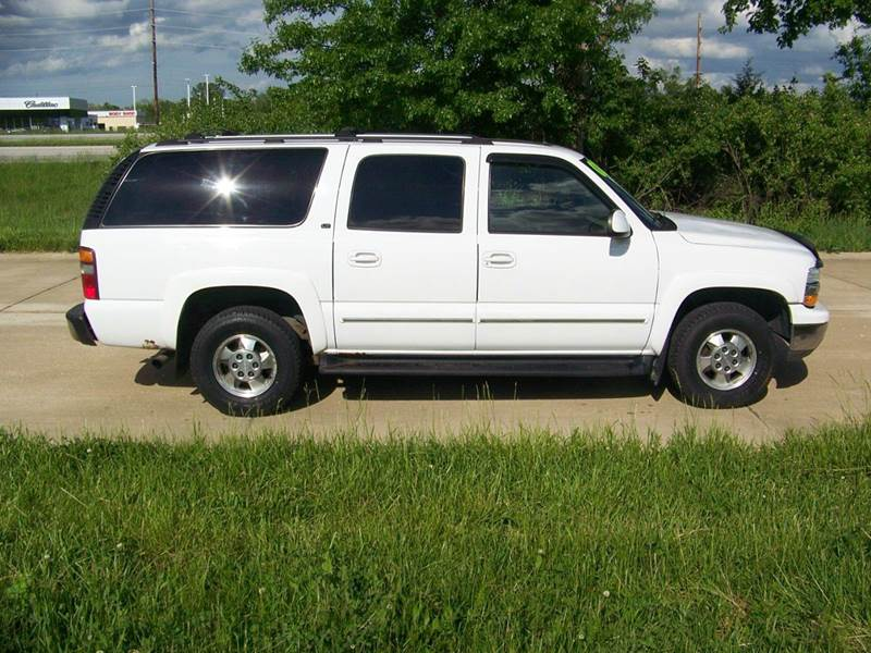 2002 chevrolet suburban 1500 ls 4wd 4dr suv in troy mo j l auto sales. Black Bedroom Furniture Sets. Home Design Ideas