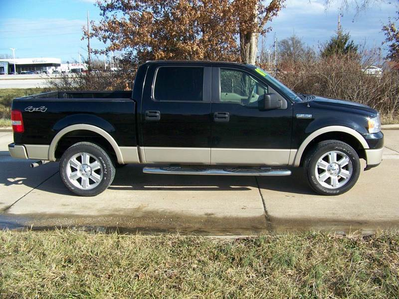 2007 ford f 150 lariat 4dr supercrew 4x4 styleside 5 5 ft sb in troy mo j l auto sales. Black Bedroom Furniture Sets. Home Design Ideas
