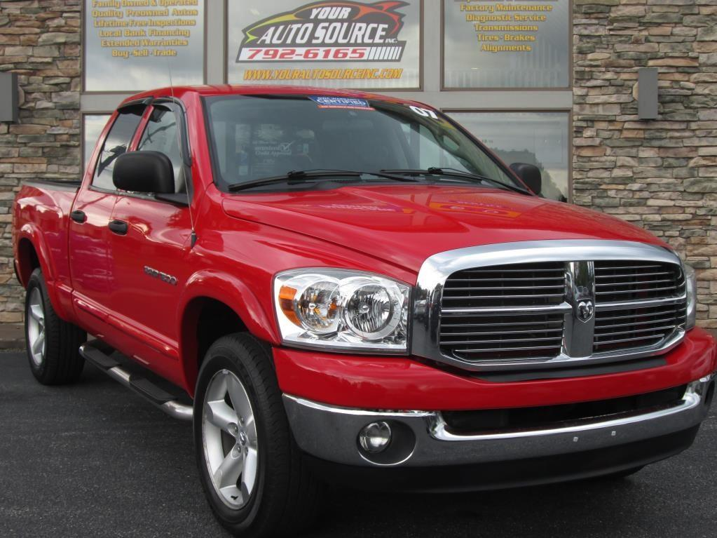 2007 dodge ram pickup 1500 slt big horn in york pa your auto source inc. Black Bedroom Furniture Sets. Home Design Ideas