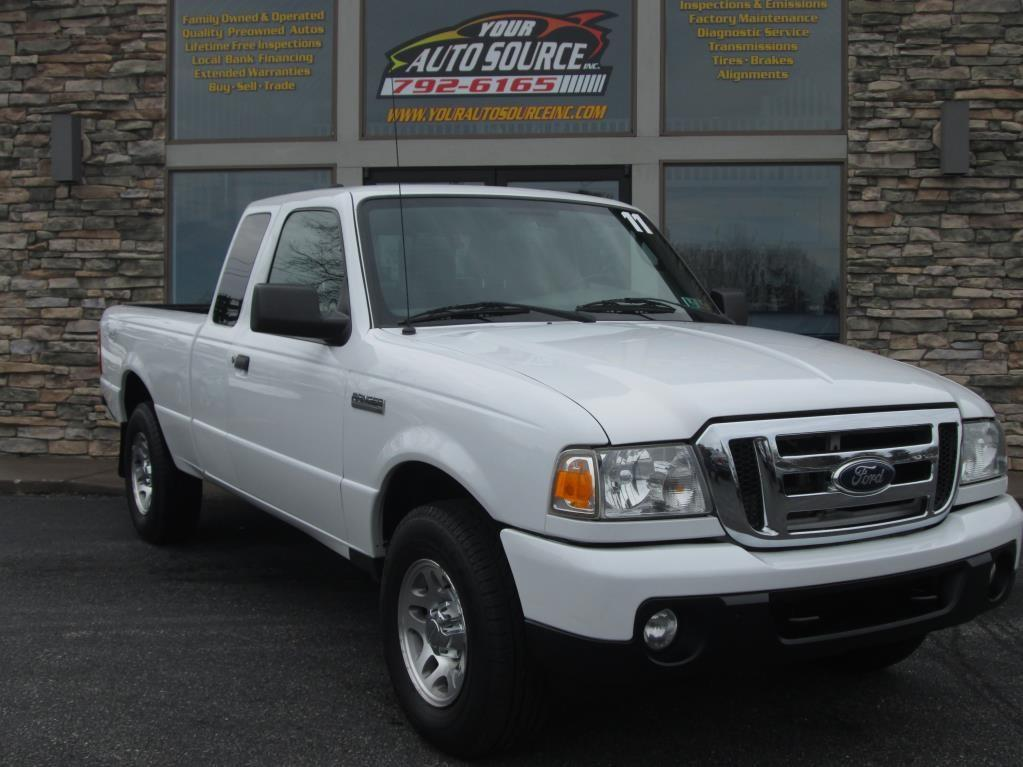 2011 ford ranger 4x4 xlt 4dr supercab in york pa your. Black Bedroom Furniture Sets. Home Design Ideas