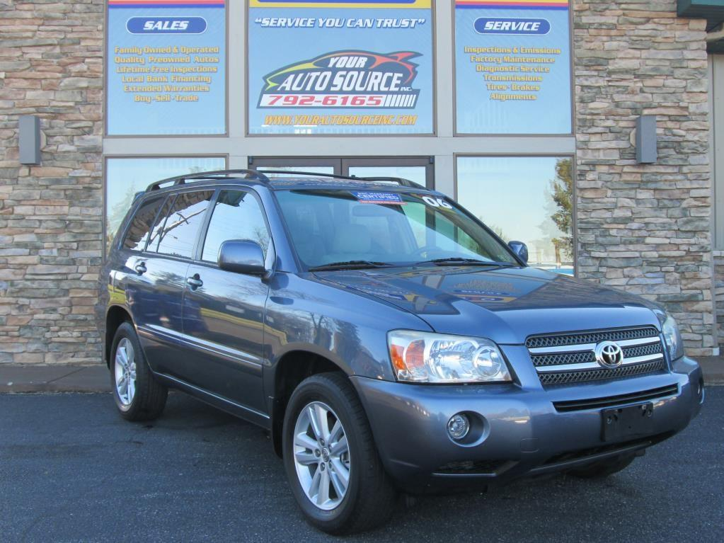 2006 toyota highlander hybrid hybrid in york pa your auto source inc. Black Bedroom Furniture Sets. Home Design Ideas
