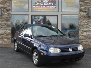 2002 Volkswagen Cabrio for sale in York, PA
