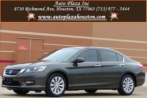 2013 Honda Accord for sale in Houston, TX