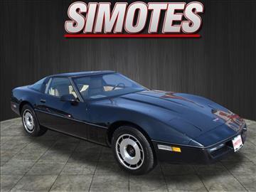 1984 Chevrolet Corvette for sale in Minooka, IL