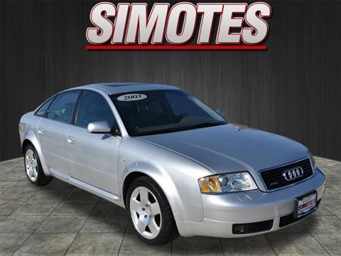 2003 Audi A6 for sale in Minooka, IL