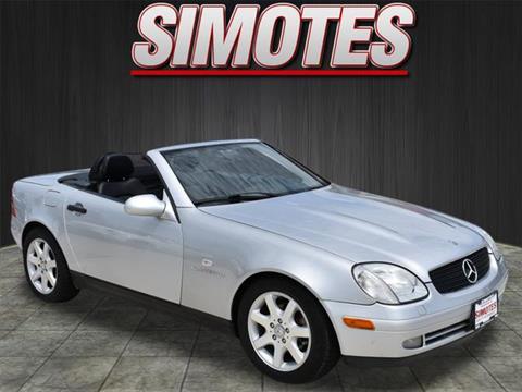 1999 Mercedes-Benz SLK for sale in Minooka, IL