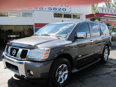 2005 nissan armada for sale. Black Bedroom Furniture Sets. Home Design Ideas