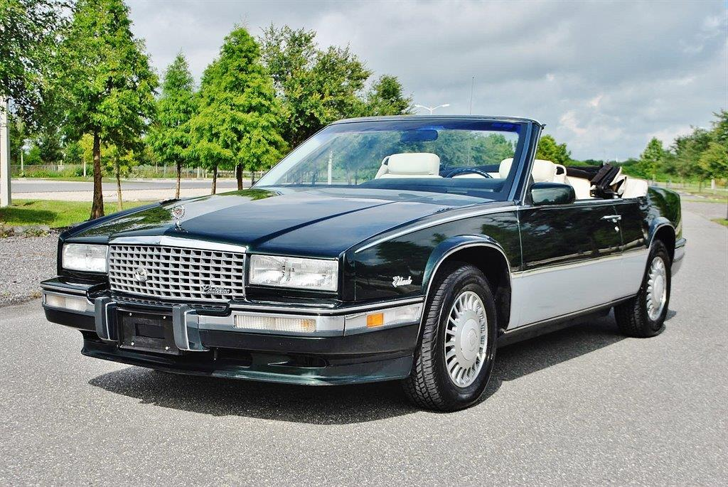 1991 cadillac eldorado for sale in lakeland fl. Black Bedroom Furniture Sets. Home Design Ideas