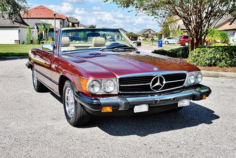 1985 Mercedes-Benz 380-Class for sale in Lakeland, FL