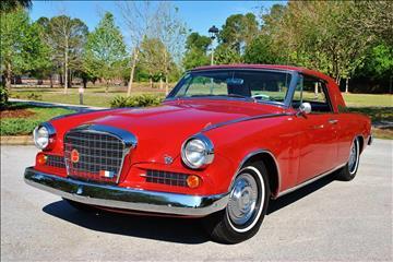 1963 Studebaker Hawk Gran Trismo for sale in Lakeland, FL